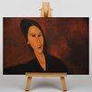 Big Box Art Leinwandbild Portrait No.3, Kunstdruck von Amedeo Modigliani