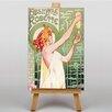 Big Box Art Leinwandbild Absinthe Robette, Retro-Werbung von Alphonse Mucha