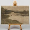 Big Box Art Leinwandbild Paysage Avec Riviere Kunstdruck von Eugene Carriere