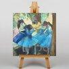 Big Box Art Leinwandbild Dancers in Blue Kunstdruck von Edgar Degas