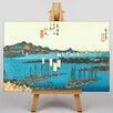 Big Box Art Japanese Oriental Ejiri by Hiroshige Graphic Art on Canvas