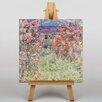 Big Box Art Leinwandbild Rose House, Kunstdruck von Claude Monet