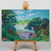 Big Box Art The River of the Aven by Henri Delavallee Art Print on Canvas