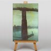 Big Box Art Battersea Bridge Nocturne by James McNeill Whistler Art Print on Canvas