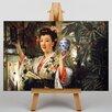 Big Box Art The Japanese Vase by James Tissot Art Print on Canvas