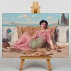 Big Box Art Godward The Quiet Pet by John William Art Print on Canvas