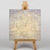 "Big Box Art Leinwandbild ""Variations"" von Paul Klee, Kunstdruck"