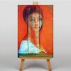 Big Box Art Veiled Woman by Odilon Redon Art Print on Canvas