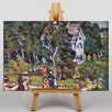 Big Box Art Maurice Pendergrast Sunday Afternoon by Maurice Prendergast Art Print on Canvas