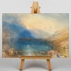 Big Box Art Lake of Zug by Joseph Mallord William Turner Art Print on Canvas