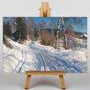 Big Box Art Leinwandbild A Winter Path, Kunstduck von Peder Mork Monstead