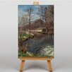 Big Box Art River Landscape by Peder Mork Monstead Art Print on Canvas