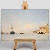 Big Box Art The Giudecca in Venice by Richard Bonington Art Print on Canvas