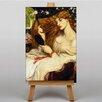 """Big Box Art Leinwandbild """"Lady Lilith"""" von Dante Gabriel Rossetti, Kunstdruck"""