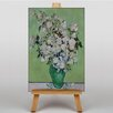 Big Box Art White Roses by Vincent Van Gogh Art Print on Canvas