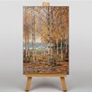 Big Box Art Birch Trees by Victor Westerholm Art Print on Canvas