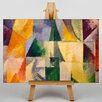 Big Box Art Abstract by Robert Delaunay Art Print on Canvas