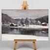 Big Box Art Leinwandbild Winter Landscape No.3, Kunstdruck von Victor Westerholm