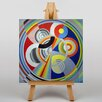 Big Box Art Salon Design by Robert Delaunay Graphic Art on Canvas