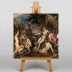 "Big Box Art Leinwandbild ""Diana Callisto Edinburgh"" von Tizian, Kunstdruck"