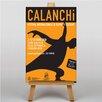 Big Box Art Leinwandbild Calanchi, Retro-Werbung