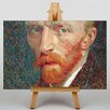 Big Box Art Self Portrait No.5 by Vincent Van Gogh Art Print on Canvas