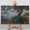 Big Box Art Waterhouse Miranda the Tempest by John William Art Print on Canvas