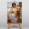 Big Box Art The Dancing Girl by John William Art Print on Canvas
