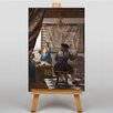 Big Box Art Van Delft by Johannes Vermeer Art Print on Canvas