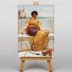 Big Box Art Leinwandbild Idleness, Kunstdruck von John William Godward