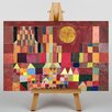Big Box Art Slot Og Sol by Paul Klee Art Print on Canvas