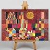 Big Box Art Slot Og Sol by Paul Klee Art Print on Canvas