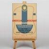 Big Box Art Maritime Service No.3 Vintage Advertisement on Canvas