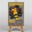 Big Box Art Smoke Vintage Advertisement on Canvas