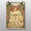 Big Box Art 'Champagne' by Alphonse Mucha Art Print
