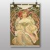 Big Box Art Poster Champagne von Alphonse Mucha, Kunstdruck