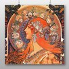 Big Box Art 'Zodiac' by Alphonse Mucha Art Print