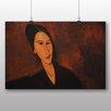 Big Box Art 'Portrait No.3' by Amedeo Modigliani Art Print