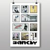 Big Box Art Montage Graffiti by Banksy Vintage Advertisement