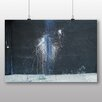 Big Box Art Poster Abstract Paint Fight, Fotodruck