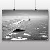 Big Box Art Poster Aeroplane Wing, Fotodruck