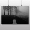 Big Box Art 'Black and White Road' Photographic Print