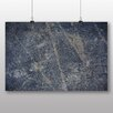 Big Box Art 'Blue Texture Abstract' Photographic Print