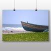 Big Box Art Boat Upon the beach Photographic Print