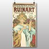 Big Box Art 'Champagne Ruinart' by Alphonse Mucha Vintage Advertisement