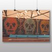 Big Box Art 'Bowling Alley Skulls' Photographic Print