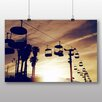 Big Box Art 'Cable Cars and Sunset' Photographic Print