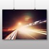 Big Box Art 'Blurred Lights on the Road' Photographic Print