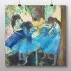Big Box Art 'Dancers in Blue' by Edgar Degas Art Print
