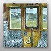 """Big Box Art Poster """"Train Landscape"""" von Eric Ravilious, Kunstdruck"""